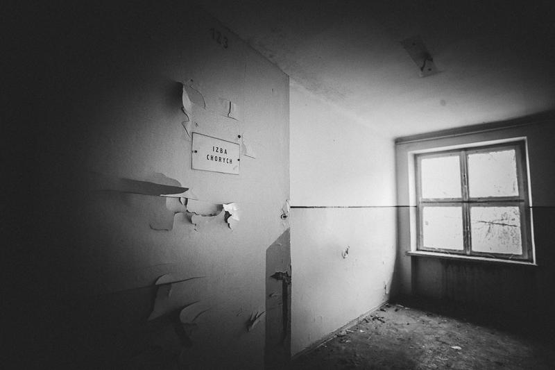 Opuszczona baza wojskowa w Teresinie
