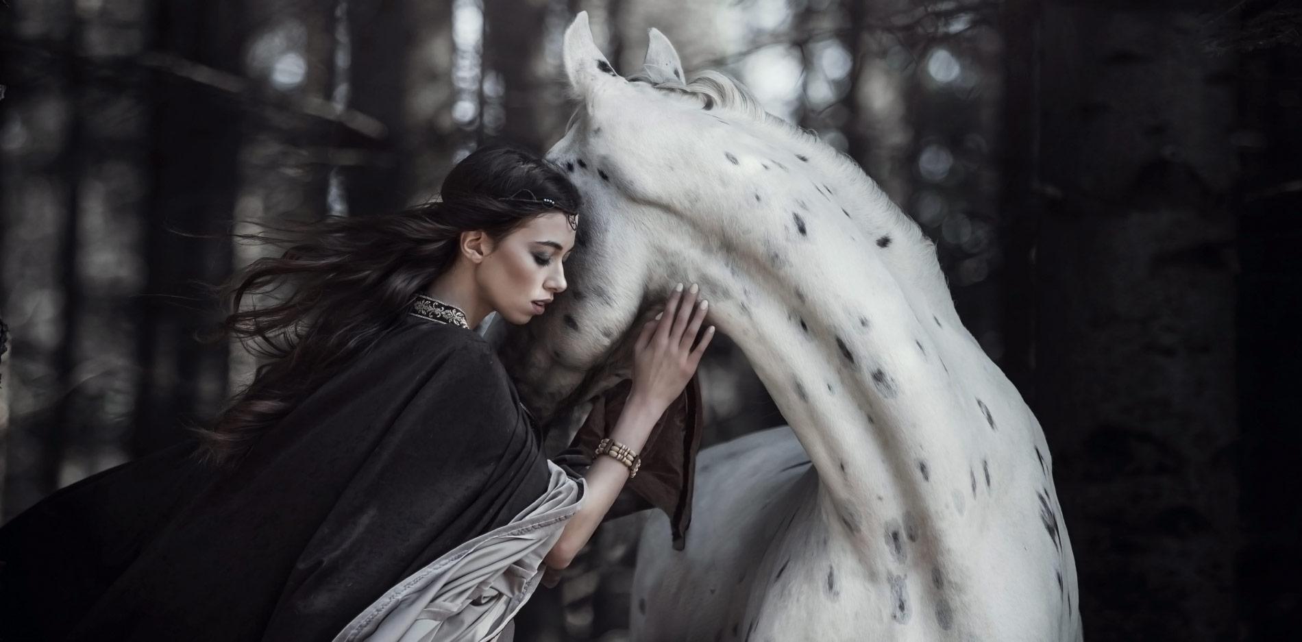 Fotograf Anna Sychowicz :: Baśniowe zdjęcia jeździecka, sesje z końmi i zwierzętami. Warszawa :: Sochaczew
